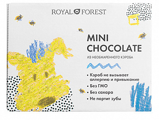 MINI CHOCOLATE из необжаренного кэроба
